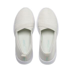 Thumbnail 6 of Adelina Women's Ballet Shoes, Vaporous Gray-Fair Aqua, medium
