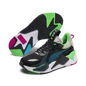 Thumbnail 2 of RS-X Toys JR, Puma Black-Blue Atoll, medium