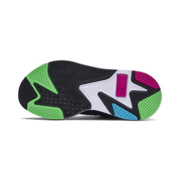 RS-X Toys JR, Puma Black-Blue Atoll, large