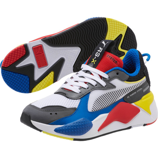 RS-X Toys Sneakers JR, Puma White-Puma Royal, large