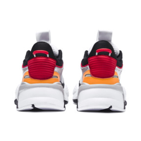 Thumbnail 3 of RS-X Tracks JR, Puma White-Puma Black, medium