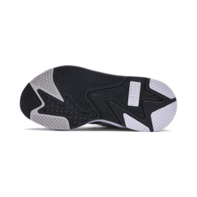 Thumbnail 4 of RS-X Tracks Youth Trainers, Puma White-Puma Black, medium