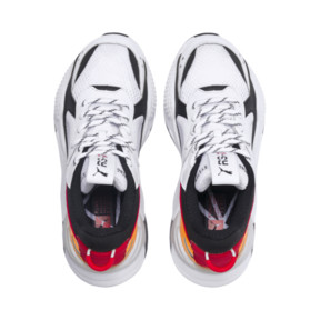 Thumbnail 6 of RS-X Tracks Youth Trainers, Puma White-Puma Black, medium