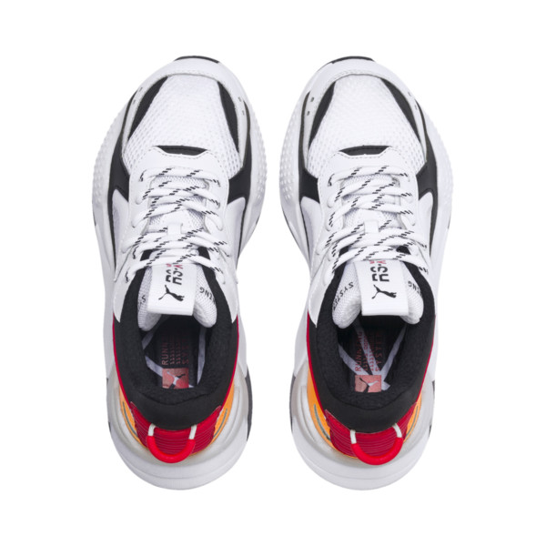 RS-X Tracks JR, Puma White-Puma Black, large