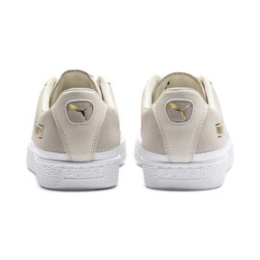 Thumbnail 4 van Sneakers met suède rand, Whisper wit-wit-goud, medium