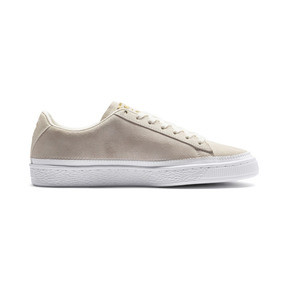 Thumbnail 6 van Sneakers met suède rand, Whisper wit-wit-goud, medium