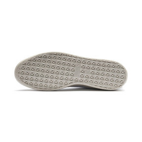 Thumbnail 5 of Basket Trim Shoes, Puma White-Whisper W-Black, medium