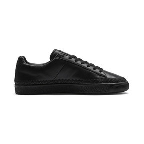 Thumbnail 6 of Basket Trim Shoes, Puma Black-Puma Team Gold, medium