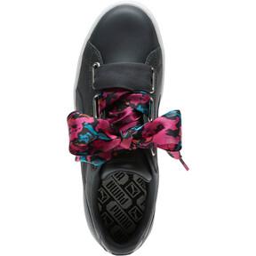 Thumbnail 5 of Basket Heart Wonderland Women's Sneakers, Ebony-Puma Silver, medium