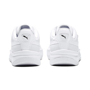 Thumbnail 4 of California Monochrome Women's Sneakers, Puma White-Puma Silver, medium