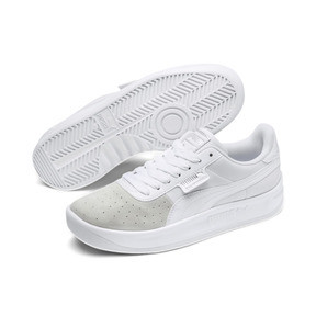 Thumbnail 3 of California Monochrome Women's Sneakers, Puma White-Puma Silver, medium