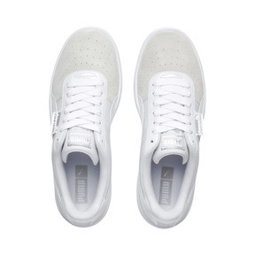 Thumbnail 7 of California Monochrome Women's Sneakers, Puma White-Puma Silver, medium
