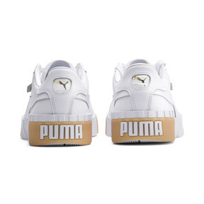 Thumbnail 3 of Cali Exotic Women's Trainers, Puma White-Puma White, medium