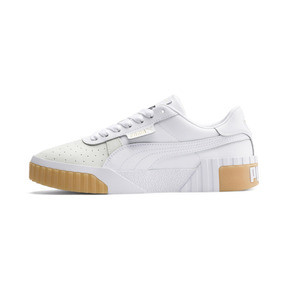 Thumbnail 1 of Cali Exotic Women's Trainers, Puma White-Puma White, medium