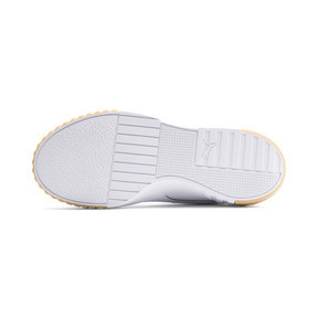 Thumbnail 4 of Cali Exotic Women's Trainers, Puma White-Puma White, medium
