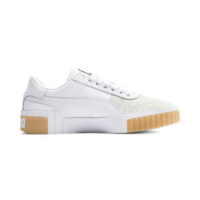 Thumbnail 5 of Cali Exotic Women's Trainers, Puma White-Puma White, medium