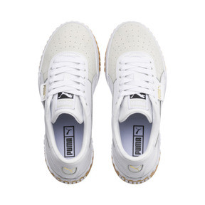Thumbnail 6 of Cali Exotic Women's Trainers, Puma White-Puma White, medium