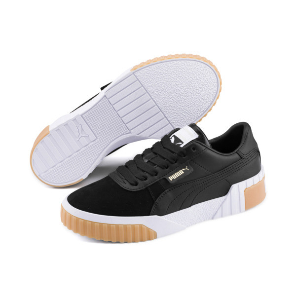 Cali Exotic Women's Trainers, Puma Black-Puma Black, large