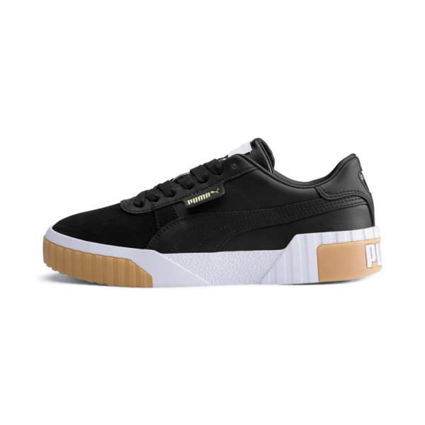 Cali Exotic Women's Sneakers, Puma Black-Puma Black, large