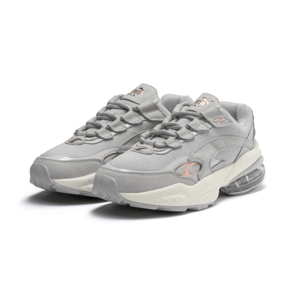Cell Venom Patent Women's Trainers, Gray Violet-Marshmallow, large