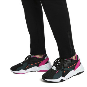 Thumbnail 2 of Nova Mesh Damen Sneaker, Puma Black-Fair Aqua, medium