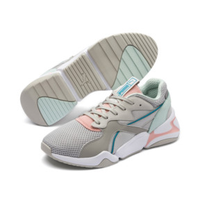 Thumbnail 3 of Nova Mesh Women's Trainers, Gray Violet-Peach Bud, medium