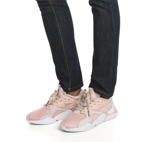 Nova GRL PWR Women's Trainers, Peach Bud-Pearl Blush, large
