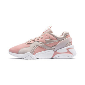 Thumbnail 1 of Nova GRL PWR Damen Sneaker, Peach Bud-Pearl Blush, medium