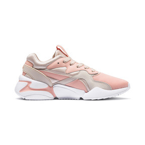 Thumbnail 6 of Nova GRL PWR Damen Sneaker, Peach Bud-Pearl Blush, medium