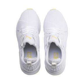 Thumbnail 6 of プーマ ミューズ TZ ウィメンズ, Puma White-Blazing Yellow, medium-JPN