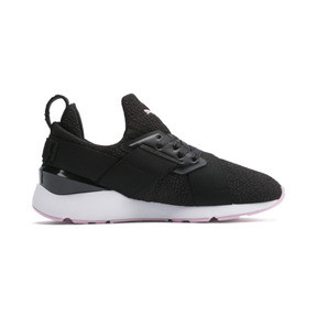 Thumbnail 5 of Muse Trailblazer Women's Sneakers, Puma Black-Pale Pink, medium