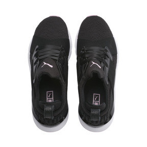 Thumbnail 6 of Basket Muse TZ pour femme, Puma Black-Pale Pink, medium