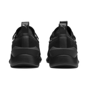 Thumbnail 4 of Muse 2 Women's Sneakers, Puma Black-Puma Black, medium