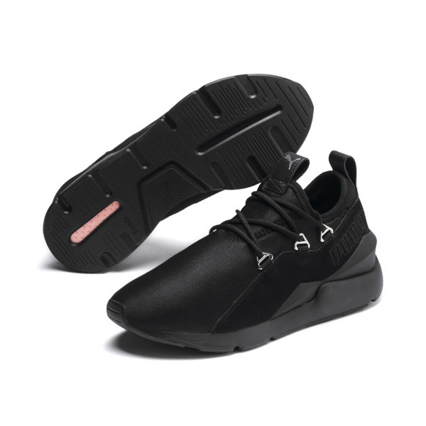 Muse 2 Women's Sneakers, Puma Black-Puma Black, large