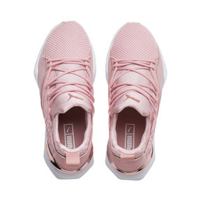 Thumbnail 6 of Muse Maia Metallic Rose Women's Trainers, Bridal Rose-Rose Gold, medium
