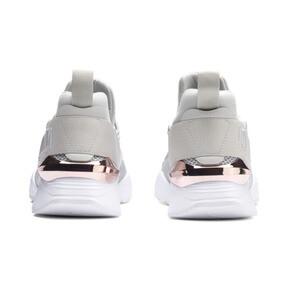 Miniatura 3 de Zapatos deportivos Muse Maia Metallic Rose de mujer, Gray Violet-Rose Gold, mediano