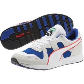 Thumbnail 2 of RS-100 Core Sneakers, Puma White-Surf The Web, medium
