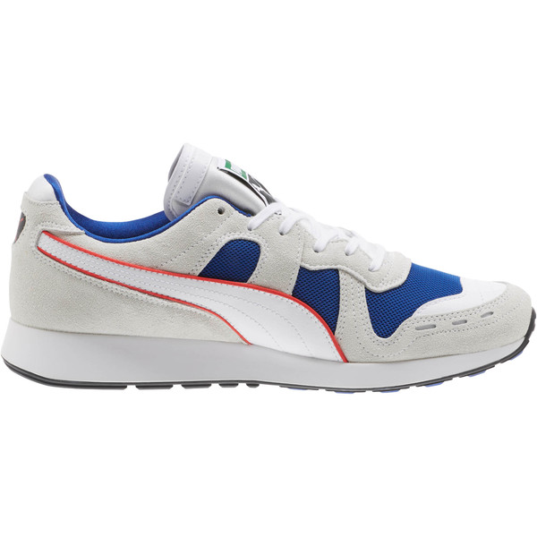 RS-100 Core Sneakers, Puma White-Surf The Web, large