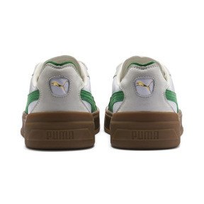 Thumbnail 4 of Cali-0 Vintage Sneaker, Puma White-Amazon Green-Gum, medium