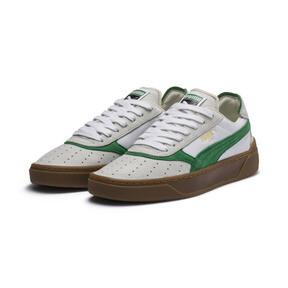 Thumbnail 3 of Cali-0 Vintage Trainers, Puma White-Amazon Green-Gum, medium