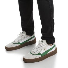 Thumbnail 2 of Cali-0 Vintage Sneaker, Puma White-Amazon Green-Gum, medium