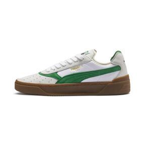 Thumbnail 1 of Cali-0 Vintage Trainers, Puma White-Amazon Green-Gum, medium