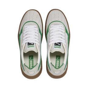 Thumbnail 7 of Cali-0 Vintage Trainers, Puma White-Amazon Green-Gum, medium