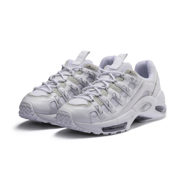 Cell Endura Reflective Trainers, Puma White-Puma White, large