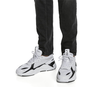 Thumbnail 2 of RS-X Trainers, Puma White-Puma Black, medium