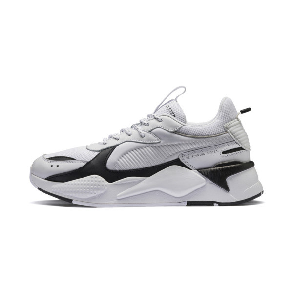 RS-X Trainers, Puma White-Puma Black, large