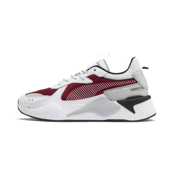 RS-X Trainers, Puma White-Rhubarb, large