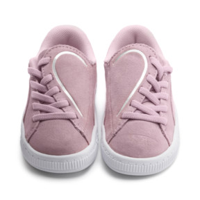 Thumbnail 7 of Suede Crush AC Sneakers PS, Pale Pink-Puma Silver, medium