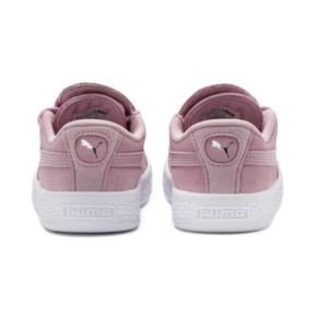 Thumbnail 3 of Suede Crush AC Toddler Shoes, Pale Pink-Puma Silver, medium