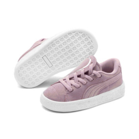Thumbnail 2 of Suede Crush AC Toddler Shoes, Pale Pink-Puma Silver, medium
